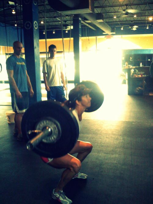 Amy backsquat