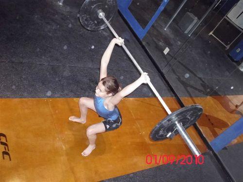 Lin OH squat